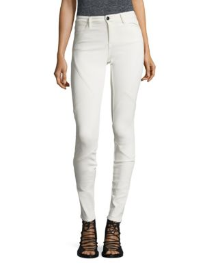 Lacey Pat Puzzle Skinny Jeans by Brockenbow