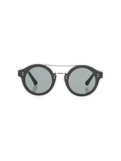 c8ad2c116982 QUICK VIEW. Jimmy Choo. Montie 64MM Round Glitter Sunglasses