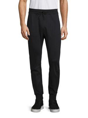 J.LINDEBERG Active Cotton Blend Sport Pants in Black