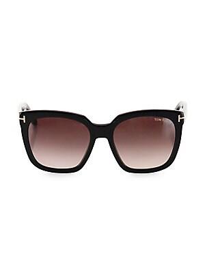 8f98fcf06d9 Tom Ford - Livia 56MM Cat Eye Sunglasses - saks.com