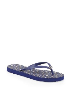 Thin Gemini Link Flip Flops by Tory Burch