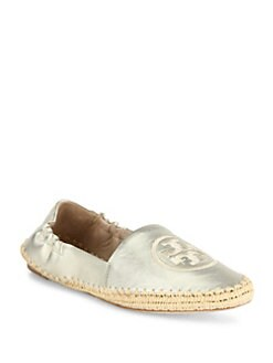 d3314c31fb3 Tory Burch Darien Metallic Leather Espadrille Loafers from Saks ...