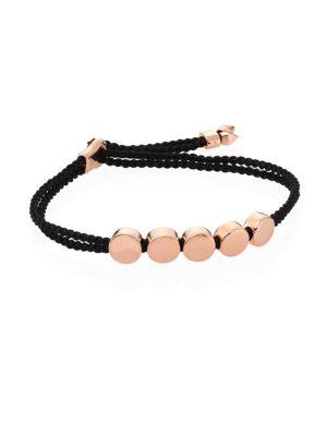 MONICA VINADER Engravable Linear Bead Friendship Bracelet in Harrods