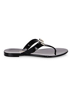 73d38c2d51b Salvatore Ferragamo. Farelia Jelly Thong Sandals