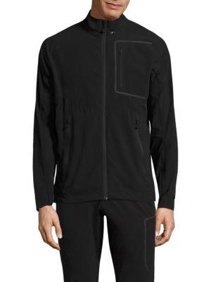 J.LINDEBERG Kinetic Soft Jacket Shell in Black