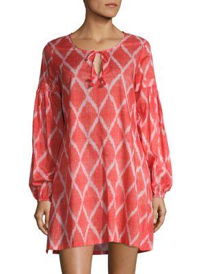 Ikat Printed Tunic by Natori