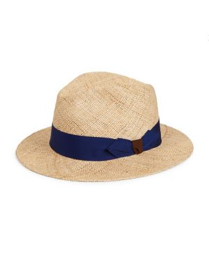 BARBISIO Bao Straw Hat in Natural