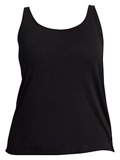 e6255af975 QUICK VIEW. Eileen Fisher, Plus Size. Plus System Silk Jersey Camisole