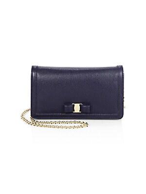 8b5b02039924 Salvatore Ferragamo - Miss Vara Leather Mini Bag - saks.com