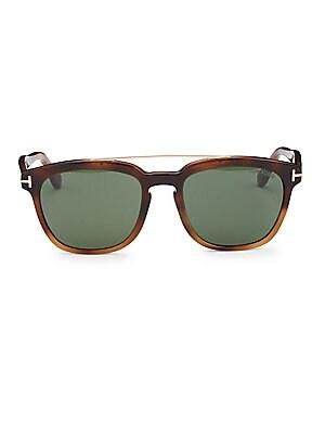 57e4c718b7e49 Tom Ford - Holt 54MM Square Sunglasses - saks.com