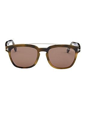 4eedc2f53a Ray-Ban - 51mm Phantos Round Double-Bridge Sunglasses - saks.com