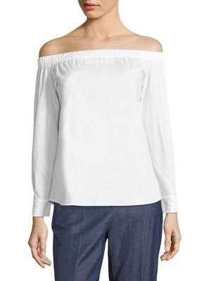 Bagiana Off-The-Shoulder Top by BOSS