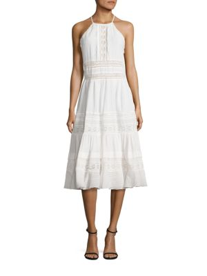 Gauze Midi Dress