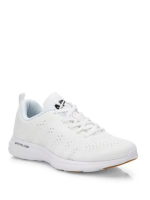 Techloom Pro Knit Mesh Sneakers in White