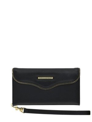 Mab Leather Phone Wristlet by Rebecca Minkoff