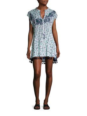Heni Printed Mini Dress by Poupette St Barth