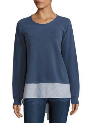 Knitted Silk Sweatshirt by Wilt