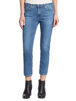 Prima Cigarette Cropped Medium Washed Jeans by AG