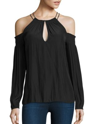 Heidi Cold-Shoulder Top by Ramy Brook
