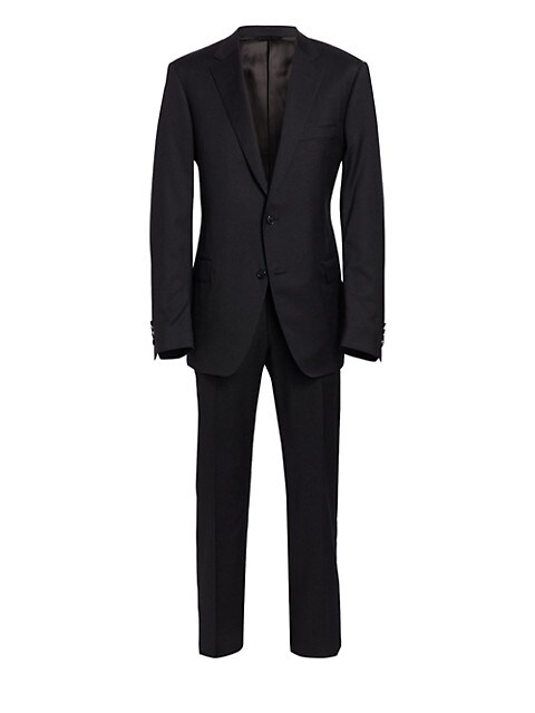 COLLECTION BY SAMUELSOHN Classic-Fit Wool Suit