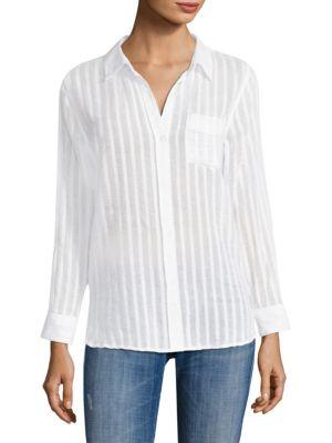 Charli Shadow Striped Shirt by Rails