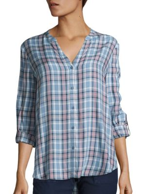 Soft Joie Dane Plaid Shirt by Joie