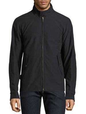 BARACUTA G4 Original Water-Resistant Jacket in Faded Black