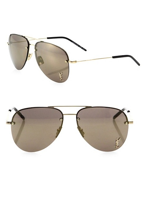 Monogram 59MM Aviator Sunglasses