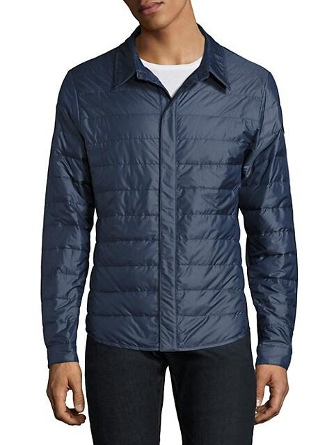 Roxton Nylon Water-Resistant Shirt Black Label