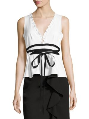 Solid Sleeveless Top by Nanette Lepore