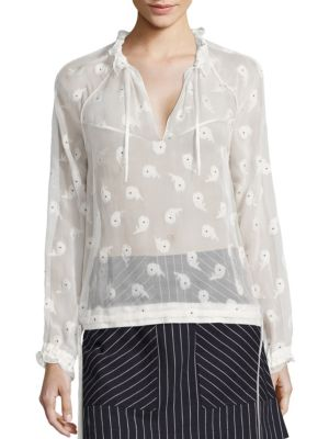 Bennett Floral-Print Top by Rag & Bone
