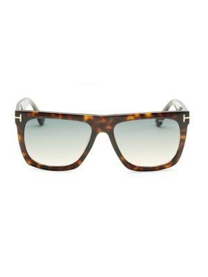 eac5d6379d Tom Ford Morgan 57Mm Soft Square Sunglasses In Havana Blue ...