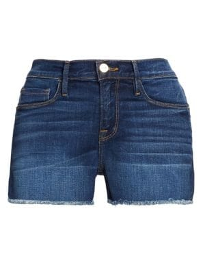 Le Cut-Off Denim Shorts, Williams