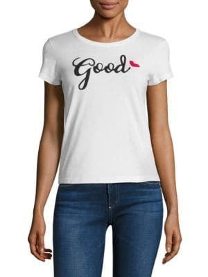 Robin Good Sometimes Graphic Tee by Alice + Olivia