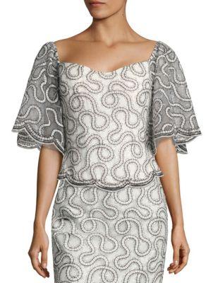 Embellished Corset Top by RENE RUIZ