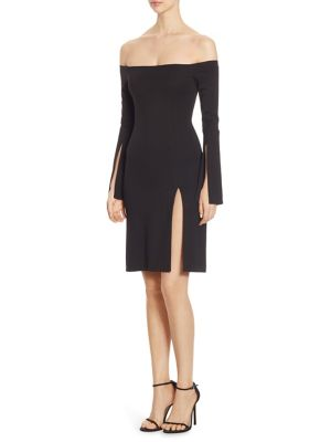 Buy Alexis Sterre Slit Off-The-Shoulder Dress online with Australia wide shipping