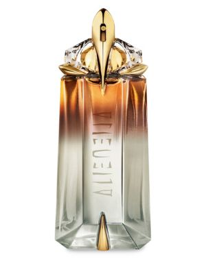 Image of EXCLUSIVELY AT SAKS FIFTH AVENUE. Mysterious and radiant, this fragrance reveals the animalistic sensuality in every woman. White gold delicately dresses the bottle, creating a truly opulent gem. 3 oz. Made in USA.