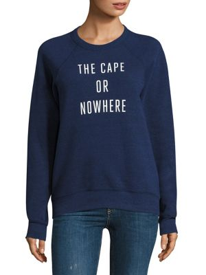 The Cape Or Nowhere Graphic Sweatshirt by Knowlita