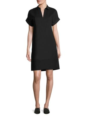 Relaxed-Fit Shift Dress