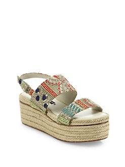 4cfe7e898799 Alice + Olivia Anastasia Platform Espadrille Sandals
