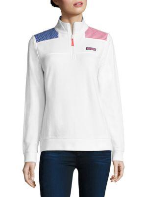 American Flag Shep Sweatshirt by Vineyard Vines