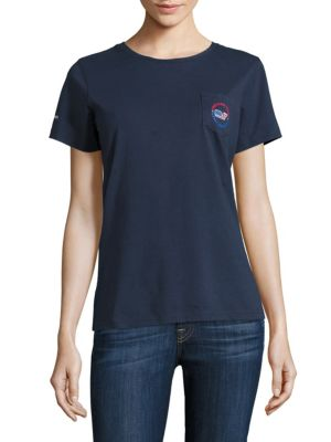 Short Sleeve USA All Day Pocket Tee by Vineyard Vines