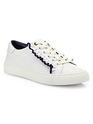 fe6912a0f88 Valentino Garavani - Rockstud Untitled Leather Sneakers - saks.com