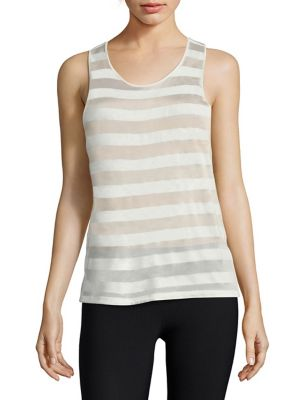 Striped Tank by Heroine Sport