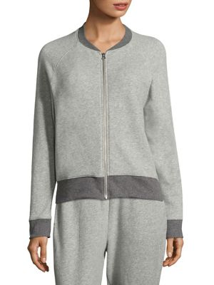 French Terry Zipper Jacket by SKIN