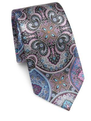 Paisley Silk Tie by Ermenegildo Zegna