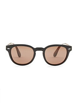 aa63ba3188 QUICK VIEW. Oliver Peoples. Sheldrake Leather 47MM Sunglasses