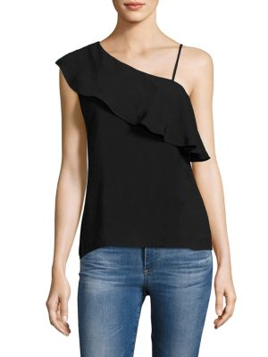 One Ruffle-Shoulder Top by Red Haute