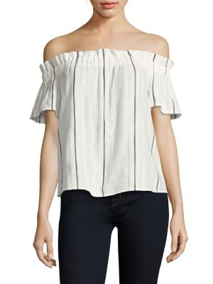 Fernanda Off-the-Shoulder Top by Cooper & Ella