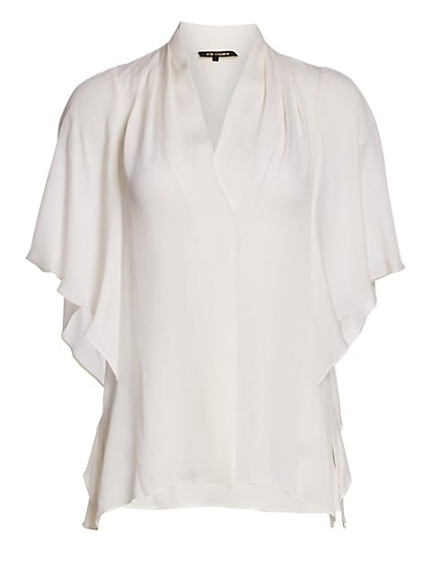 Carin Silk Kimono Blouse